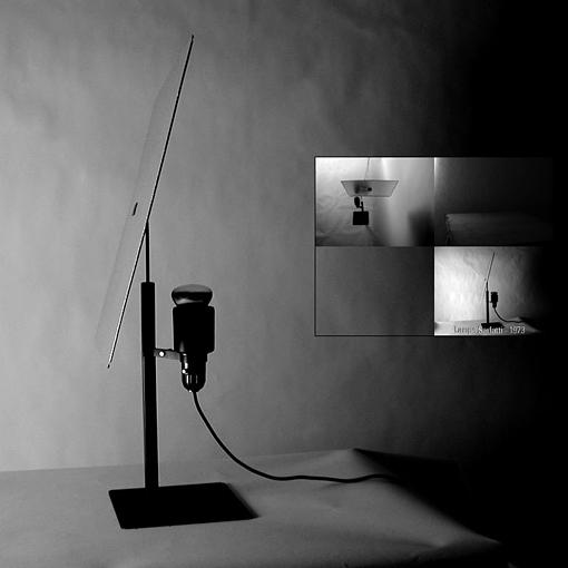 lampe Sarfatti 1973  – projet ARI 2001 frederique santune